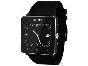 Sony SmartWatch 2 SW2 Bluetooth For Android Cell Phone Watch W/ Strap - Black