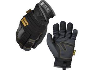 Mechanix Cold Weather Winter Armor Gray & Black Work Gloves - MCW-WA - Small