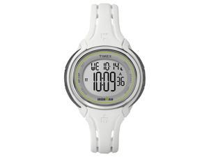Timex Women's Ironman Sleek 50 Lap Multi-Function Digital Sports Watch - White