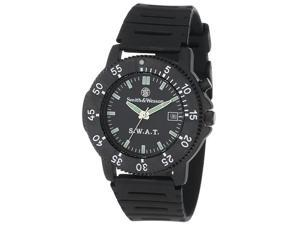 Smith & Wesson SWW-45? S.W.A.T, Black Rubber Strap, Black/Green Dial
