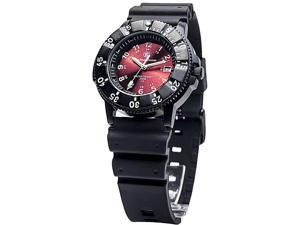 Smith & Wesson SWW-450-RED Sport Tritium, 42mm, Red Face, Black Nylon & Rubber S