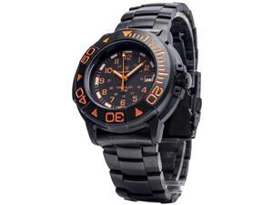 Smith & Wesson SWW-900-OR Diver Tritium, 40mm, Orange Face, Black Rubber & Metal