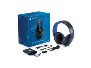 Sony Playstation PS3 PS4 PS Vita PC & Mac Gold Wireless Stereo Gaming Headset