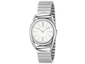 Gucci Women's Horsebit Watch Quartz Sapphire Crystal YA140505
