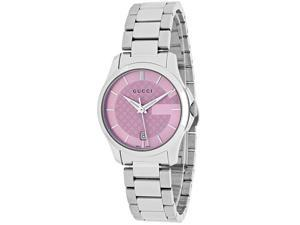 Gucci Women's G-Timeless Watch Quartz Sapphire Crystal YA126524