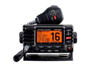 STD-GX1700B Standard Horizon VHF, Explorer GPS, Opt. Remote, Black