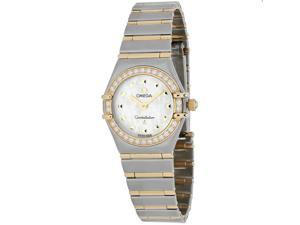 Omega Women's Constellation Watch Automatic Sapphire Crystal O1365.71