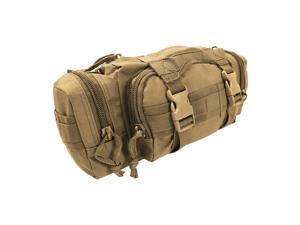 Every Day Carry TC15 Nylon Deployment Bag w/ Molle Straps - Coyote Tan