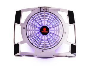 Coolmax 12118 200Mm Blue Led Fan Laptop Cooler