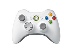 Microsoft Official Xbox 360 Video Game Console Wireless Remote Controller White