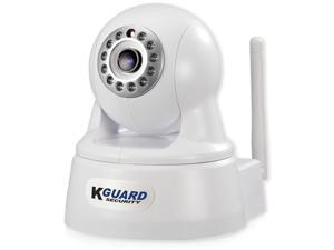 KGuard Security QRT-303 720p Infrared Night Vision Wireless Network Camera w/Pan
