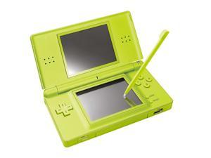 Nintendo DS Lite LCD Dual Screen Microphone Wireless Handheld Video Game Console - Lime Green
