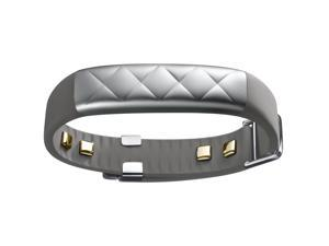 Jawbone UP3 Bluetooth Wireless Heart Rate Monitor, Sleep and Fitness Tracker - Silver Cross