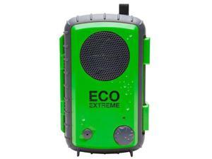 ECOXGEAR GDI-AQCSE Waterproof Portable Speaker for MP3 Player/Smartphone-Green