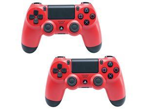 2 Pack Sony PlayStation 4 PS4 Dualshock 4 Wireless Control - New Sealed - Red