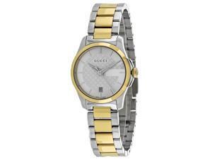 Gucci Women's G-Timeless Watch Quartz Mineral Crystal YA126531