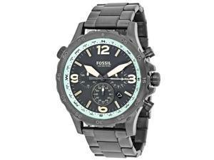 Fossil Men's Nate Watch Quartz Mineral Crystal JR1517