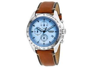 Fossil Men's Sport 54 Watch Quartz Mineral Crystal CH3022
