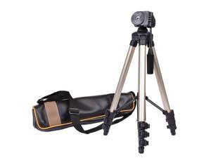 """42"""" Compact Travel Digital Camera & Camcorder Tripod w/Carrying Case - Silver"""