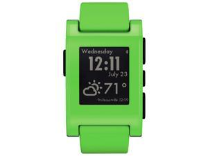 Pebble Classic Bluetooth Smartwatch - Compatible with iOS and Android - Green