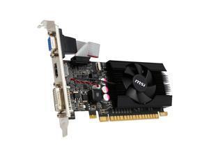 MSI GeForce GT 610 1GB DDR3 PCI Express PCIe DVI/VGA w/HDMI & HDCP Video Card