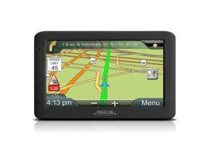"Magellan RoadMate 5330T-LM 5"" Touchscreen Portable GPS System w/US Lifetime Map"