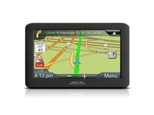 "Magellan RoadMate 5330T-LM 5"" Touchscreen Portable GPS System w/US Lifetime Map"