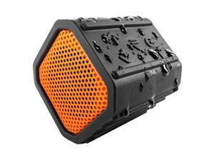 ECOXGEAR GDI-EGPB100 EcoPebble Waterproof Bluetooth Wireless Speaker - Orange