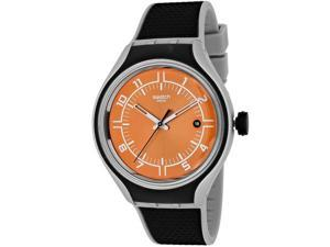 Swatch Men's Irony YES4002 Black Rubber Swiss Quartz Watch