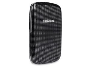 "Matsunichi DM256 1TB Slim Portable 2.5"" External Hard Drive USB 3.0 - Black"
