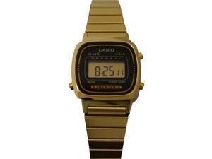 Casio Stainless Steel Gold Digital Watch - LA670WGA-1CR