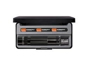 Maglite XL 200 LED High Power 172 Lumens Flashlight- BLACK- GIFT BOX - S3017