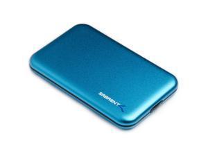 "Sabrent USB 3.0 to 2.5"" SATA Screwless Hard Drive Enclosure Blue EC-RDBL"
