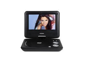 "Sylvania 7"" LCD Portable Compact DVD Player 180° Swivel Screen - Black - SDVD7029"