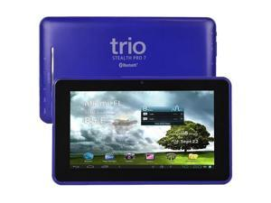 "Trio Stealth Pro 7 7"" 8GB Android 4.1 WiFi Tablet Cortex A9 1GHz 512MB - Blue"