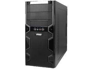 MSI MBOX II 6-Bay mATX Mini Tower Case w/300W 20+4-pin PSU & 90mm Fan - Black
