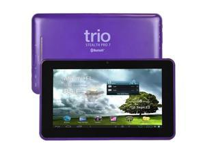 "Trio Stealth Pro 7 7"" 8GB Android 4.1 WiFi Tablet Cortex A9 1GHz 512MB - Purple"