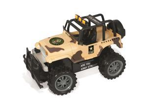 US Army Strong Off-Road Jeep RC All-Terrain Desert Vehicle with Remote Control