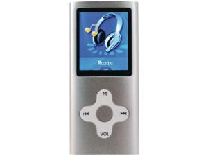 "Eclipse 180SL 1.8"" 8GB MP3 USB Digital Music, Video Player, Recorder - Silver"