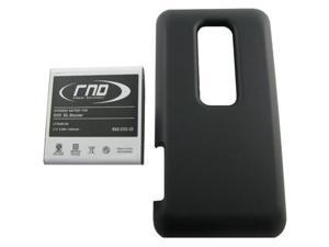RND Extended High Capacity Lithium-Ion Battery (35H00164-00M) + Back Cover for HTC Evo 3D