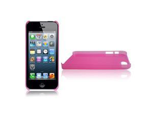 RND Slim-fit Protective Case for Apple iPhone 5 (Transparent Pink Rose)