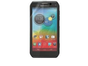 RND 3 Screen Protectors for Motorola Photon Q 4G LTE (Ultra Crystal Clear) with lint cleaning cloths