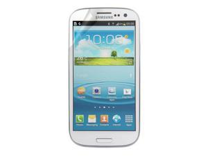 RND 3 Screen Protectors for Samsung Galaxy S III (Pink Diamond Finish) with lint cleaning cloths