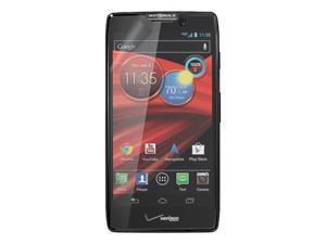 RND 3 Screen Protectors for Motorola Droid Razr HD (Ultra Crystal Clear) with lint cleaning cloths