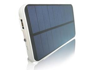 RND Solar Powered (5000mAh) External Battery pack / power bank for the iPad  Tablets  iPhone  smartphones and other USB Powered Devices.