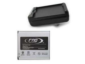 RND Battery Charger + 2600mAh Standard Battery for Samsung Galaxy S4 and S4 ACTIVE