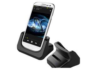 RND Dock and 2nd Battery Charger for Samsung Galaxy S III (3) (compatible without or with a slim-fit case)