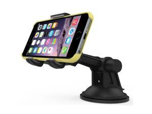 RND Vehicle Charging Dock for iPhone (6 / 6 Plus / 6S/ 6S Plus/ 5 / 5S / 5C) iPad (Air / Mini) iPod Touch  (Compatible with or without a case)(Black)