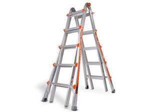 Multipurpose Ladder, Aluminum, 22 ft.