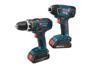 CLPK232-181 18V Cordless Lithium-Ion 1/2 in. Drill Driver and Impact Driver Combo Kit
